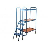 3 Shelf High Order Picking Trolley BC53